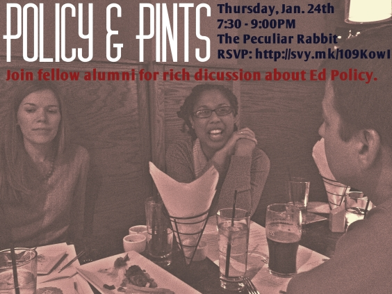 Policy & Pints - 1.24.13